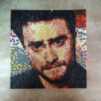 Daniel Radcliffe in beads by MaryJaneee