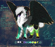Isac sparkledog ref by Aibyou