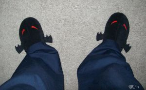 MM's Pajamas: Evil Slippers by Emmalyn