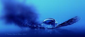 blue drop by dini25