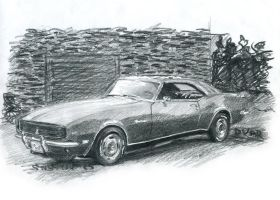 Chevrolet Camaro 67 gr' by Sensetive-Bender