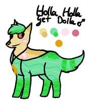 Holla Holla Get Dolla reference by kittystuff