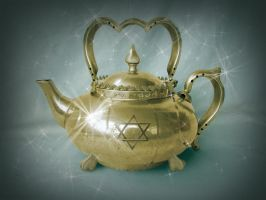 The Brass Teapot by MidoriEyes