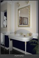Neoclassic Bathroom by xsekox