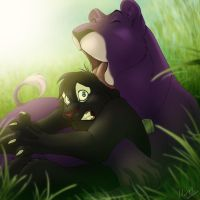 She's going to eat me! by Mirri