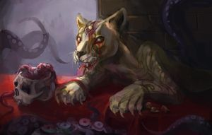 Lone Lioness by bloodrizer