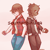 Bacca and Benja by Southrobin