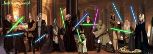 jedi high council ep II by adlpictures
