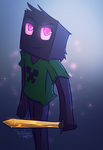 Enderman (Minecraft) by VicTycoon