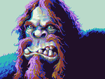 Redheaded Ogre by GoldenMech