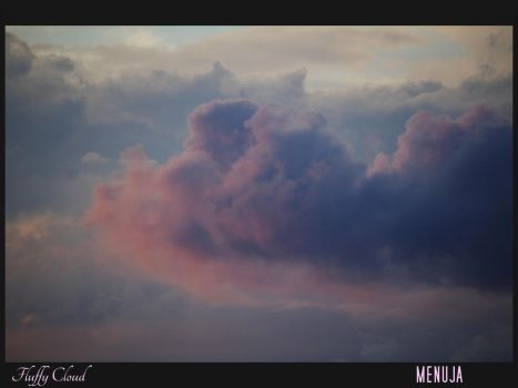 Fluffy Cloud by Menuja