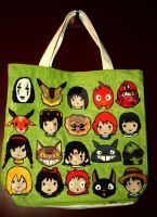 Studio Ghibli Tote by KawaiiModeSmile