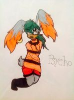 Psycho browflouski by evil-vivianne