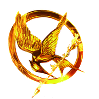 The Hunger Games Movie Logo (ring) by allheartsgoboom