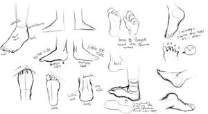Feet ref by TranslucentRainbow