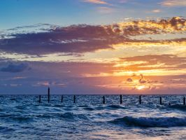 Sentries for a sunset by peterpateman
