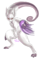 Mewtwo Reborn by CheezieSpaz