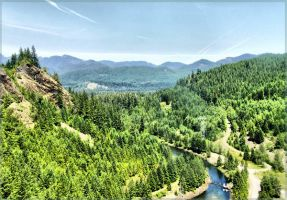 Oregon HDR by melodicnitemare