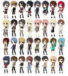 ALL of the Naruto OCs by septemberice