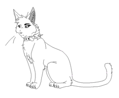 Male Bloodclan Cat Base by Kimster890