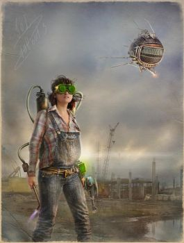 Wasteland engineer_ fragment by inSOLense