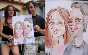 Live Caricature by DeesDilemma