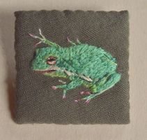 Green Tree Frog by imagination-heart