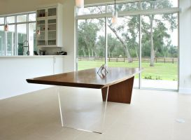 large slab dining table by sharp-chisel