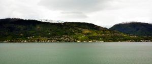 Sailing the fjords to Skjolden 28 by abelamario