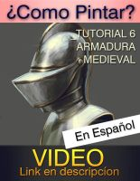 COMO PINTAR ARMADURA_METAL_TUTORIAL by JesusAConde