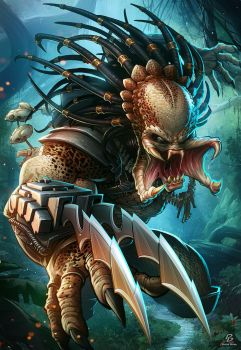 The Predator by PatrickBrown