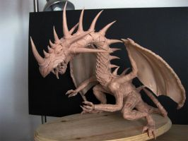 Dragon Sculpture by Murcielago-77