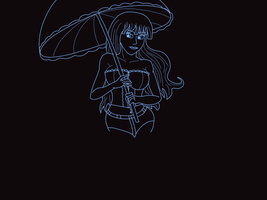 Umbrella Lineart by gtstyling32