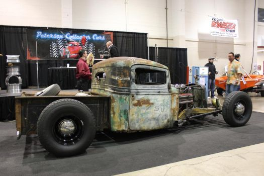 Rat rod on auction block by finhead4ever