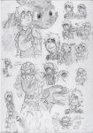 HTTYD2 - Hiccup doodles by Hukkis
