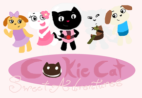 Cookie Cat: Sweet Adventures Title Card by MirabelleLeaf31