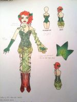 Poison Ivy Design Drawing by thealisabeth