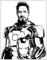 Iron Man - 4 by DMThompson