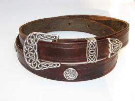 Long Celtic Belt by PeacefulMynd