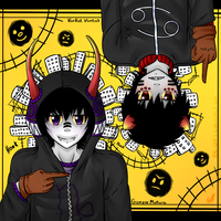 .:Gamzee and Karkat Matryoshka:. by PuRe-LOVE-G-S