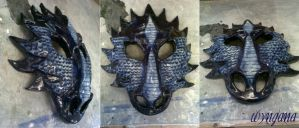 Dragon Mask by Wyngana