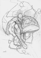Spider Man : pencil by shiprock