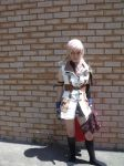 Lightning: dodge pose by Uruha-fan-girl