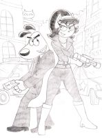 Kitty and Dudley TUFF PUPPY-reloaded 2.0 part 18 by LGGallardo