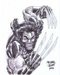 Wolverine by MichaelOdomArt