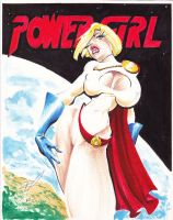 Power Girl 02 by RaySee