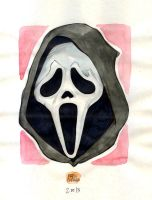 Modern Monsters 02 ghostface by mdavidct