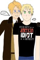 England's American Idiot by Marquis25