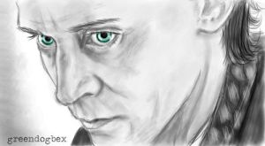 god of mischief and teary eyes by Greendogbex