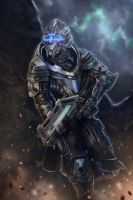 Vetra Nyx - Mass Effect Andromeda by RobTromans